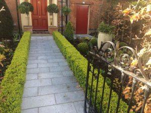 Period front garden in Dublin