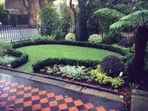 Font garden in Dublin