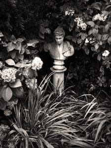 Niche feature in a Wexford garden
