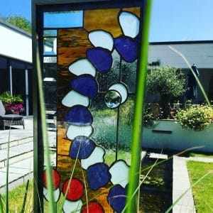 Cool glass garden