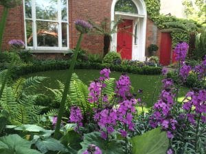 Period front garden in Ballsbridge